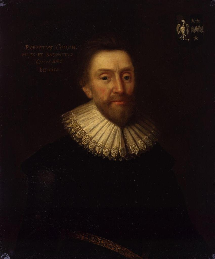Portrait of Sir Robert Cotton